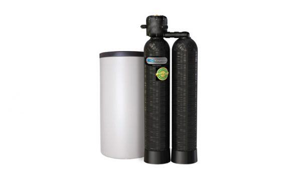 Descalcificador Kinetico doble botella Mach 2030 S 1″, 1/4″