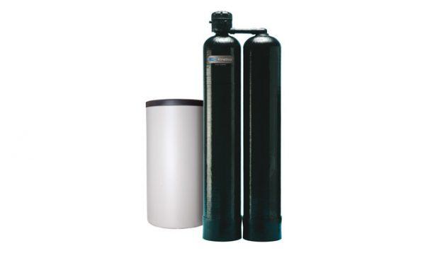 Descalcificador compacto doble botella alterno Mach 2100 S 1″, 1/4″